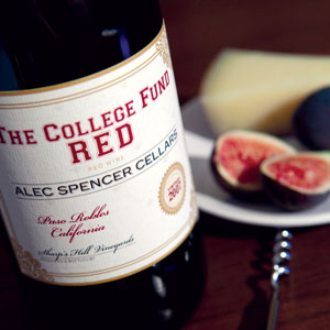 Alec Spencer Cellars: 2007 College Fund Red